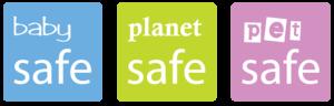 Baby Safe Planet Safe Pet Safe